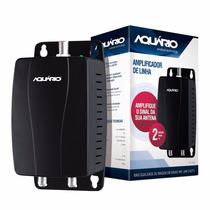 Amplificador Linha Para Antena Externa 20db Al1020 Aquário