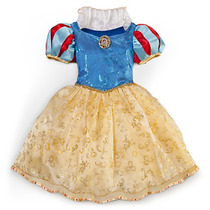Hermoso Vestido Disfraz Blanca Nieves Original Disney 5/6