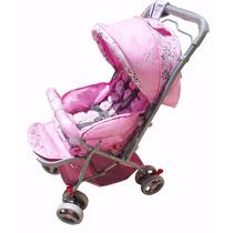 Carrinho Para Bebê Berço E Passeio Com Alça Reversível !