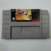 Cartucho Super Bomberman 4 - Snes