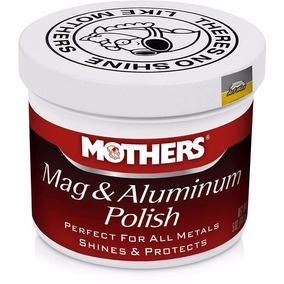 Polimento. Para Metais Aluminio Rodas Mothers 141g