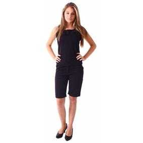 Bermuda Social Plus Size Feminina - Roupa 36 Ao 50.