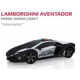 5 Modelos De Carros De Papel Lamborghini E Pagani Zonda