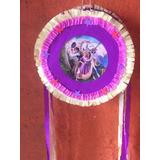 Piñata Tambor 35 Cm Diam,princesas,rapunzel,personajes,etc.