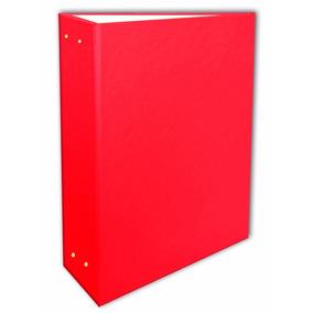 Álbum Vermelho Liso 15x21 - 200 Fotos + 1 Brinde Especial