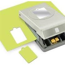 Scrapbook Perforadora Etiqueta Papel Tag Cartulina Punch