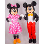Fantasia Personagem Mickey E Minnie Mouse