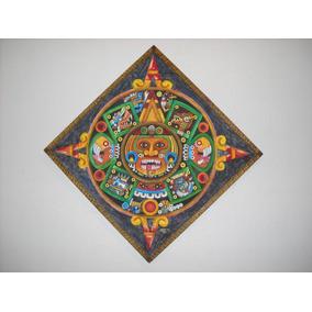 Oleo De Quinto Sol (parte De Calendario Azteca)