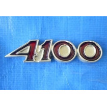 Emblema 4100 Paralama Opala Ss Friso Grade Lanterna Volante