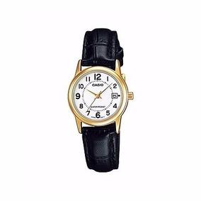 Reloj Casio Cuero Dama Ltp-v002gl-7b Original-nuevo