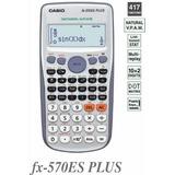 Calculadora Casio Científica Fx570plus Original Garantia Ofi