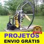 Projeto De Girocóptero Bem Detalhado Frete Grátis