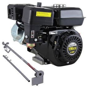 Motor 6.5hp Gasolina 196cc 4t Schulz Mgs + Rabeta Std 1,5m