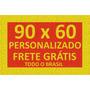 Tapete Capacho Personalizado 90x60 + Frete Grátis Em 12x
