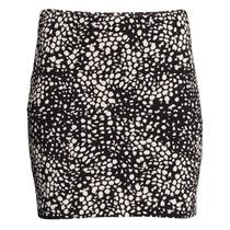 Pollera Minifalda Tubo Lycra Ajustada H&m Nueva Importada