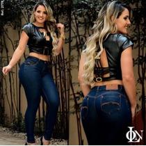 Calça Online Jeans (estilo Rhero E Pit Bull) Bojo Removível