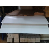 Laminas De Pvc Blanco Alto Impacto 122x244cms - 0.05mm