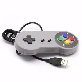 Ofertaço Joystick Controle Usb Super Nintendo Snes Game Ps4