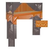 Plataforma De Trabalho Elevatoria Andaime Ajustavel 400kg