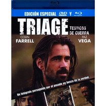 Triage Pelicula En Blu-ray + Dvd