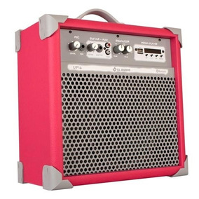 Caixa Som Multiuso Ll Up 6 Rosa 45w Usb Sd Fm Bluetooth