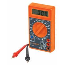 Multímetro Truper Digital C/ Accesorios (mut-830)