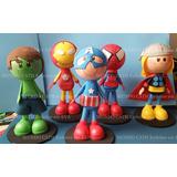 Enfeites Decoração Festa Vingadores Super Herois Heroi