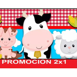 Kit Imprimible Animalitos De La Granja Full Fiesta 2x1