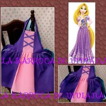 Delantales Frozen, Rapunzel, Merida, La Sirenita, Etc.