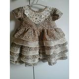 Vestido Infantil Lindo De Oncinha!
