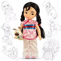 Mulan Muñeca Animator De Disney Store 100% Original
