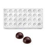 Molde Para Chocolate Policarbonato Semi-circular Marca Ibili