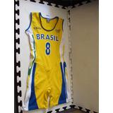 Uniforme De Jogo Seleção Brasileira Basquete Feminino