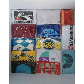 Kit 10 Camisas De Surf - Quiksilver Oakley & Outras