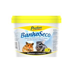 Pó Banho Seco Para Hamster Chinchila Prefere 1kg