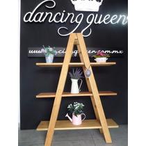 Librero Florero Repisero De Madera Marca Dancing Queen