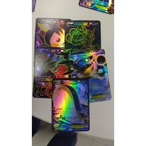 24 Cards Pokemon Ex Kit Com 20 Cartas Ex + 04 Mega Ex +frete