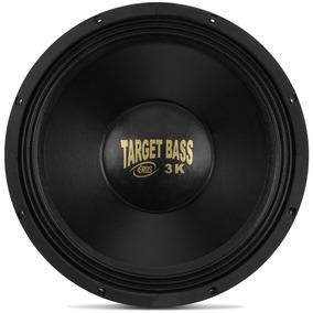 Alto Falante Woofer Eros 15 Target Bass 3.0k 1500w 8 Ohms