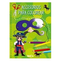 Accesorios Para Colorear (color Verde) (máscara Envío Gratis