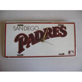 Reloj Placa De Carro San Diego Padres