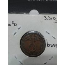 Moneda Nazi Cobre Tercer Reich 1937 Excelente