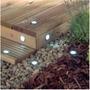 Iluminación Solar Empotrada Deck,durmientes/ Energía Solares