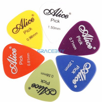 Paletas Alice (30 Peças) P/ Violão Guitarra Acessório Music