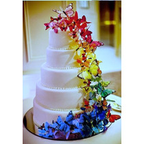Mariposas Para Adornar Tortas Y Cupcakes