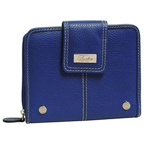 Buxton Westcott Ficha Zip Alrededor Attache (ultramar)