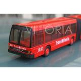Bus Transmilenio Articulado Metalico Maisto Original Nuevo