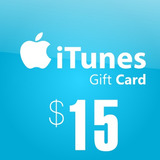 Tarjeta Itunes Gift Card $15 - App Store Iphone Ipad Ipod
