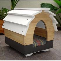 Casa De Perro Chico Madera Minimalista Green Life Muebles