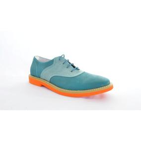 Zapato Casual Oxford Marca Altoretti, Elaborado En Cuero