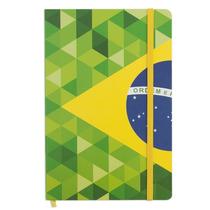 Caderno De Anotações Bandeira Do Brasil